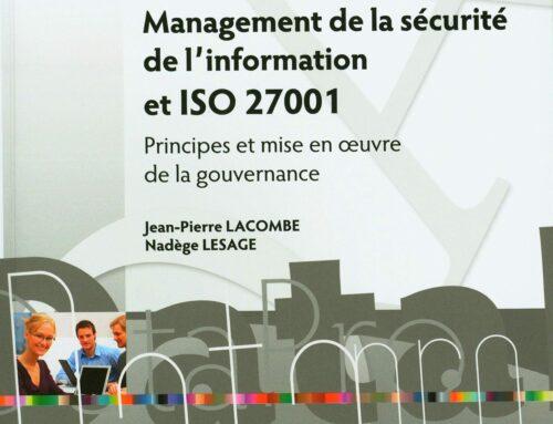 Management de la sécurité de l'information et ISO 27001